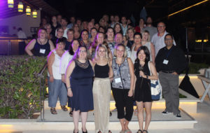 WestJet's Travel Agent Advisory Board at the recent Cancun conference