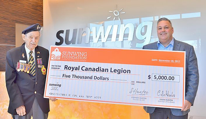 'Tis the season for giving with Sunwing, Flight Centre
