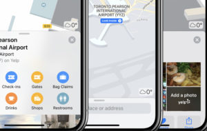 Lost in an airport? Use Apple Maps to find your way
