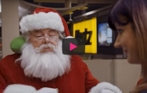 Santa's sleigh gets a major upgrade in new Hertz holiday video