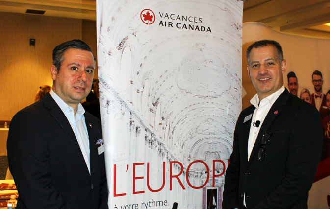 "ACV's 2018 Europe launch: ""We want to drive customers to you and Air Canada Vacations"""