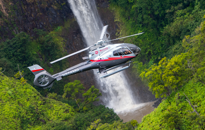 maverick helicopters now offering tours of kauai travelweek. Black Bedroom Furniture Sets. Home Design Ideas