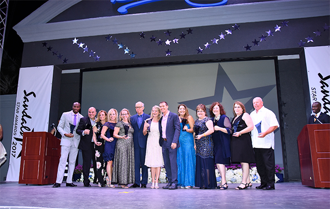 Canadian agents big winners at Sandals S.T.A.R. Awards at Beaches Turks & Caicos