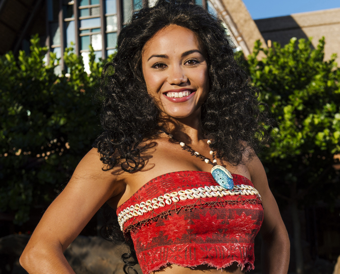 Guests at Aulani, a Disney Resort & Spa in Hawaii, also have the opportunity to interact with Moana.