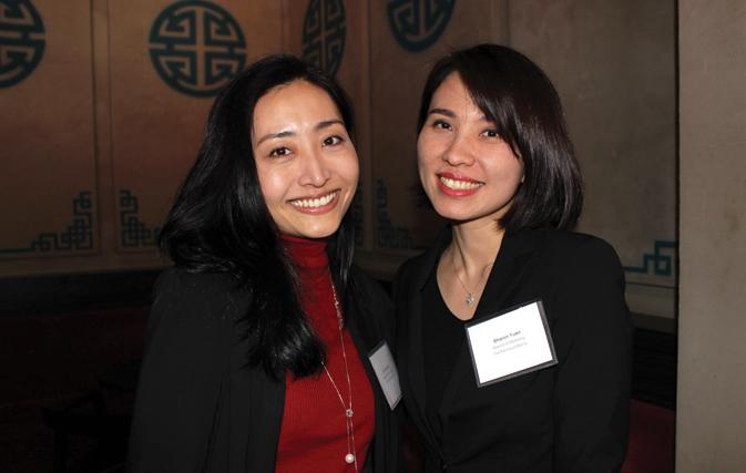 Eri Sugimoto, The Peninsula Tokyo (left), and Sharon Yuen, The Peninsula Beijing