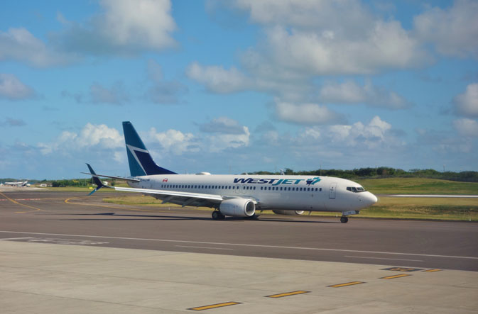 WestJet and Delta Air Lines