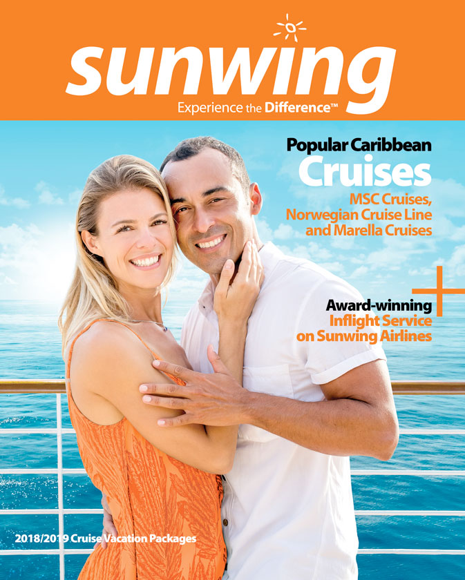 Sunwing's new Cruise brochure just released; Sunwing Experiences now get STAR points
