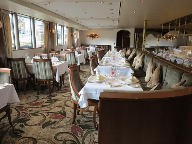 MS TREASURES - COMPASS ROSE DINING ROOM