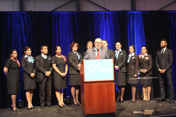 """Transat's future is very bright"": Transat marks 30 years since its first Toronto-London flight"