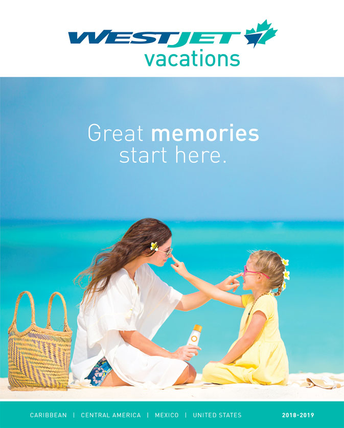 westjet vacations ready to launch 2018 19 brochure ws adds two new