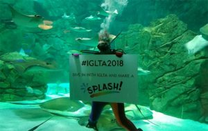 LGBT travel leaders make a 'splash' in Toronto with the opening of IGLTA convention