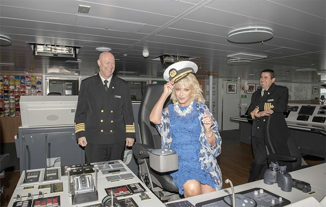 """Newly christened Seabourn Ovation to bring """"new era"""" for Seabourn"""