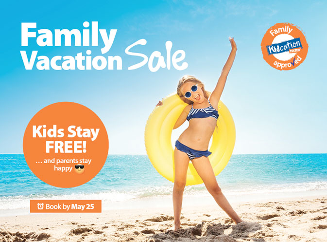 School's (almost) out! Celebrate with Sunwing's Family Vacation sale