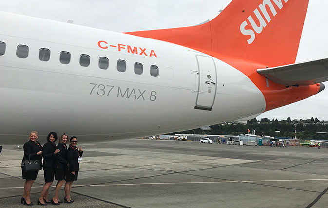 To the MAX: Sunwing Airlines takes delivery of the first of
