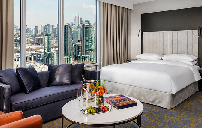 Hotel X Toronto: Great for conference goers & sports, entertainment fans