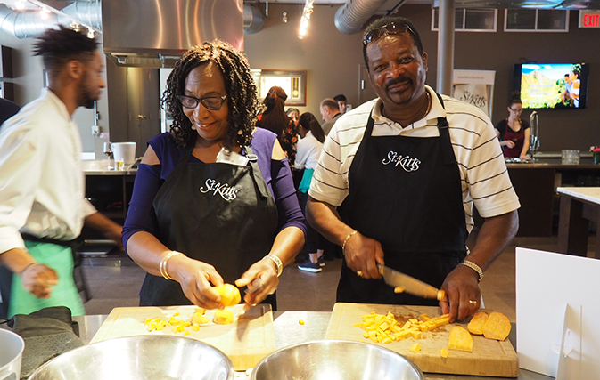 """In the kitchen with St. Kitts: """"We keep filling planes, even as they get larger and larger"""""""
