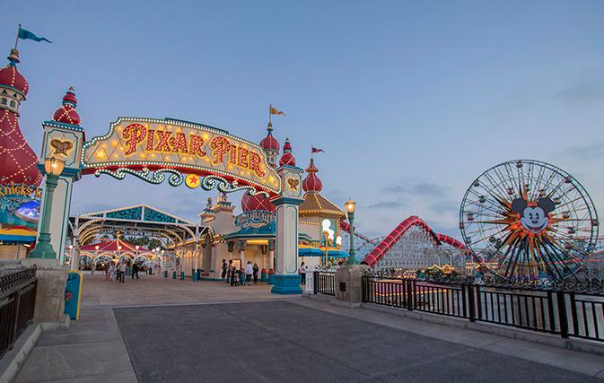 Now Open Pixar Pier At Disney California Adventure Park
