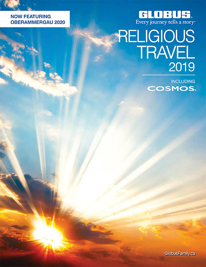 Hot off the press: Globus family of brands' 2019 Religious Travel brochure