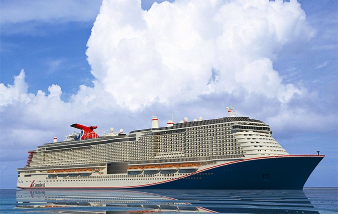 First look at the largest Carnival cruise ship ever built