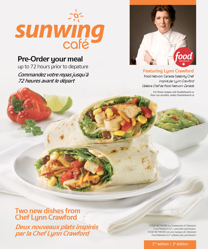 Sunwing launches new contest to celebrate 3rd year with Chef Lynn Crawford