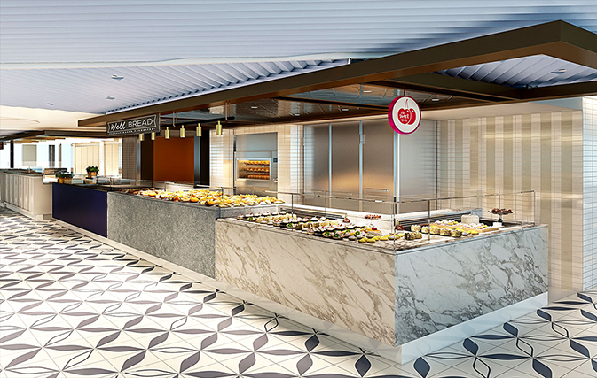 Razzle Dazzle? Extra Virgin? Must be the new dining venues for Virgin Voyages
