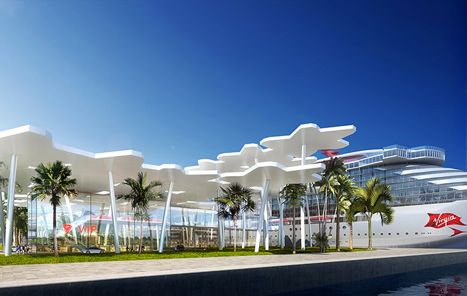 Virgin Voyages Terminal at PortMiami coming in 2021; Scarlet Lady bookings open Feb. 14, 2019
