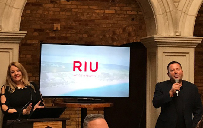 "RIU celebrates Sunwing as ""our one and only partner in Canada"""