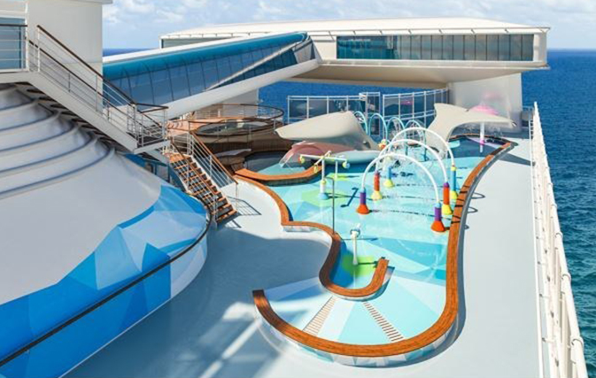 New Family Splash Zone coming to Caribbean Princess this summer