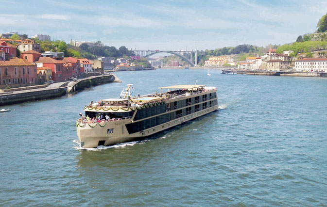 AmaWaterways christens first of three new ships joining its fleet this year
