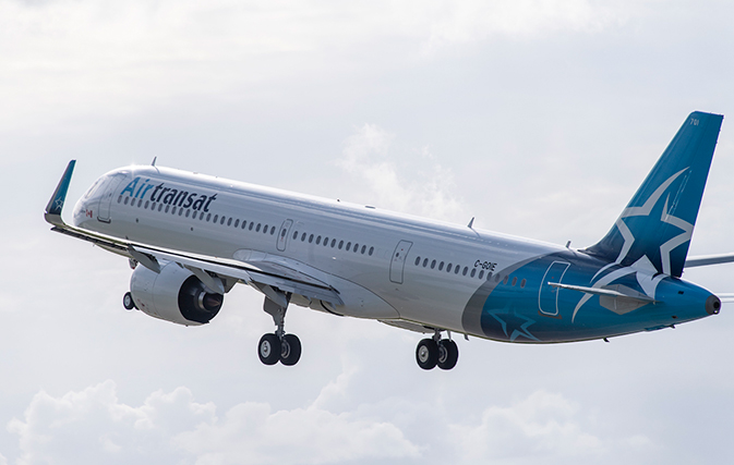 Air Transat Takes Delivery Of Its First A321neolr With More To Come