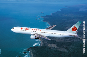 Air Canada reports record August load factor of 89.5%