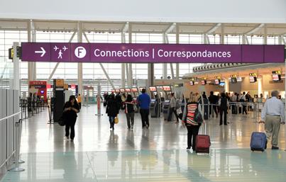 Canadians spend US$1,007 per capita on international travel, ranking third worldwide