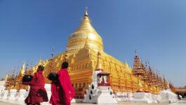Shwezigon Paya, Bagan, Myanmar