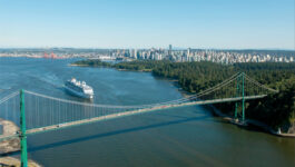 First cruise ship of the season departs Port Metro Vancouver