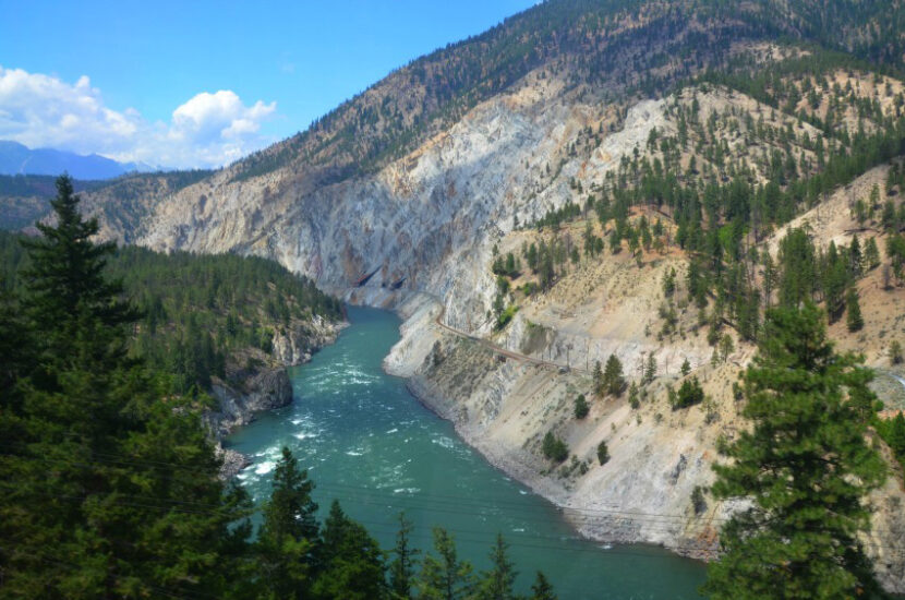 Thompson River and Kamloops Lake regions