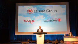 Michael Friisdahl, President and CEO of the Air Canada Leisure Group