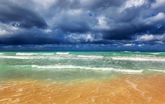Rough seas as Hurricane Dora churns towards Mexico