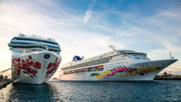 Forward cruise bookings are already up 30% for first half of 2017, says NCL's parent company