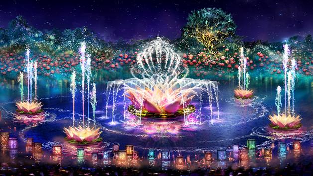 Night Safari, Light Show and Avatar