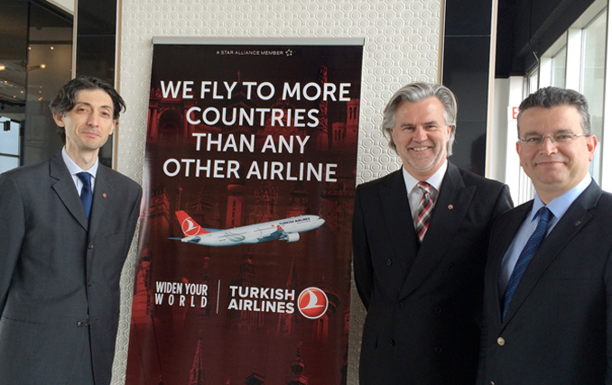 It's all about connections for Turkish Airlines and that bodes well for business travellers