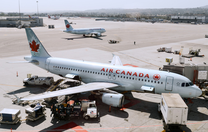 Air Canada reports $101 million Q1 profit compared with a loss a year ago