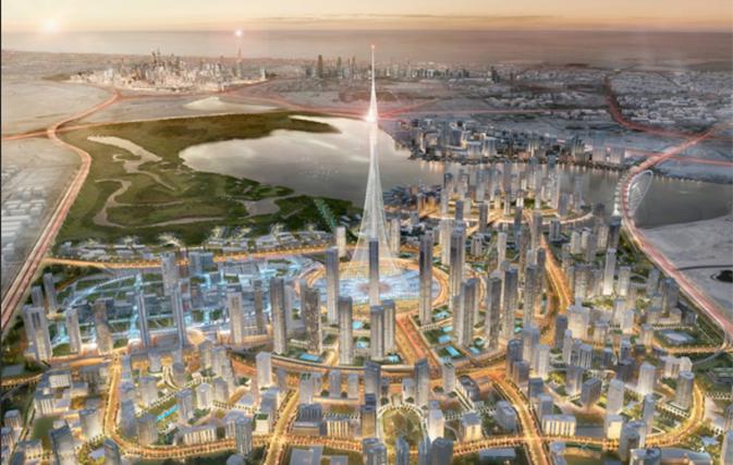 Dubai to recreate Hanging Gardens of Babylon as world's tallest skyscraper