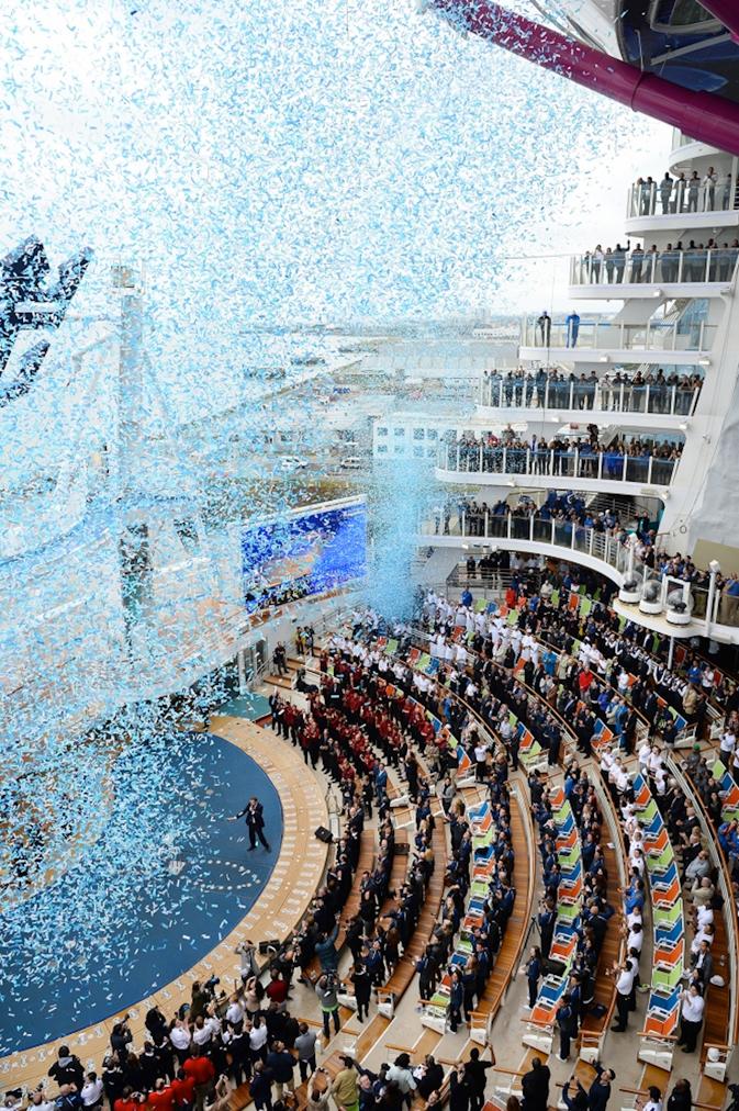 Harmony of the Seas Delivery Ceremony