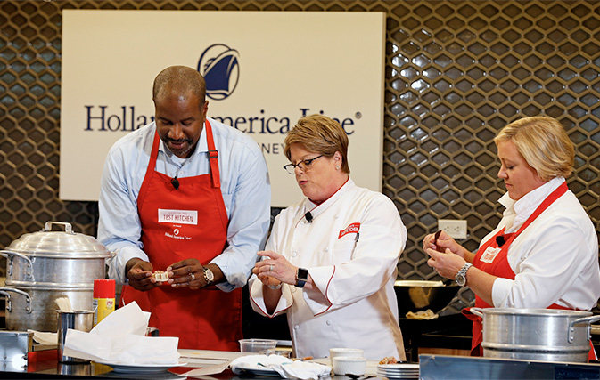 Holland America Partners With America S Test Kitchen