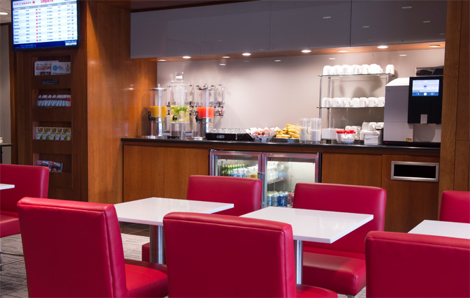 Air Canada debuts 3rd Maple Leaf Lounge in the U S  at