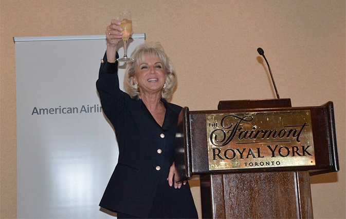 Donna Paladini, AA Vice President of Stations and Canada