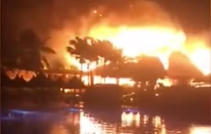 Fire breaks out at Grand Bahia Principe Tulum