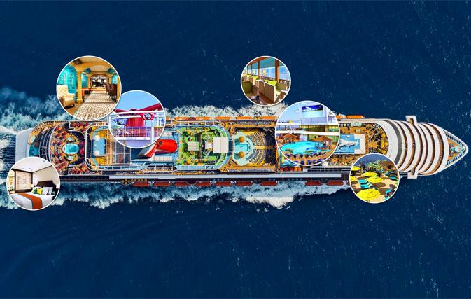 Carnival Horizon adds 'long weekend' cruises to Bermuda to its inaugural season