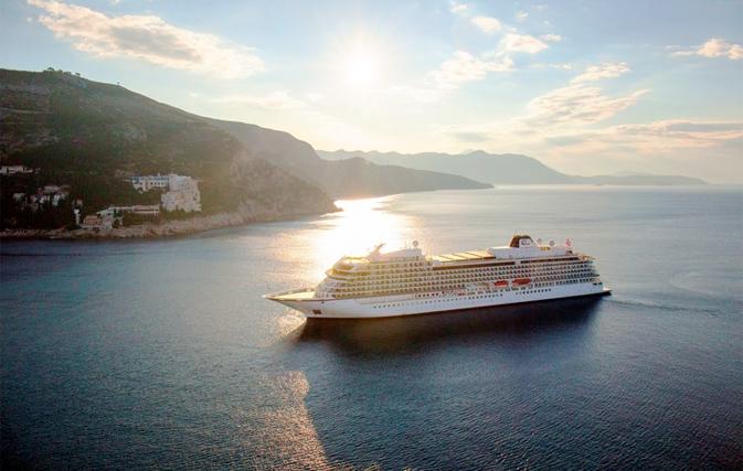 Viking Sky sets sail on maiden voyage through the Mediterranean