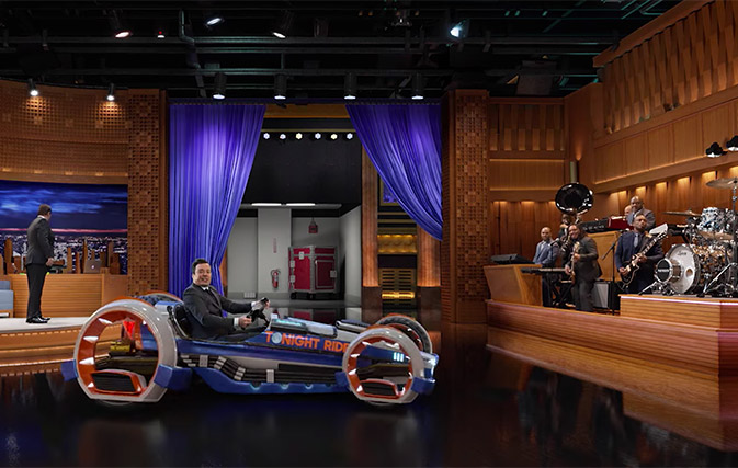 Watch Jimmy Fallon S Reaction To His New Ride At Universal
